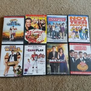 8 Comedy DVD pack